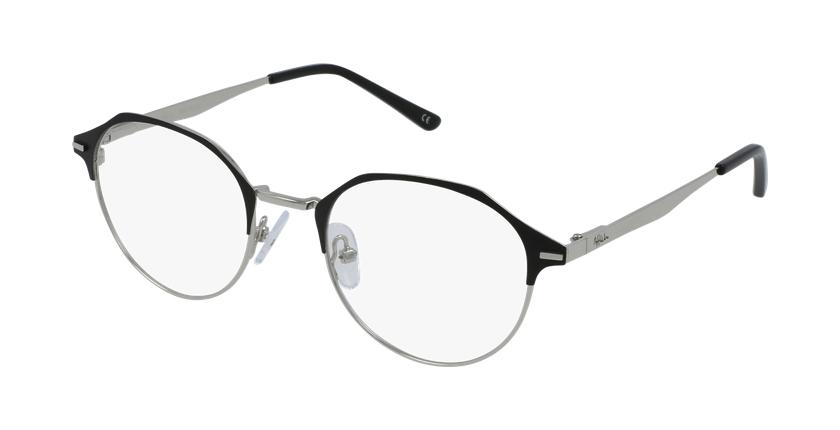 Gafas graduadas mujer OAF20524 negro/plateado - vue de 3/4
