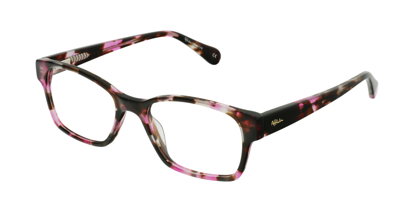 Gafas graduadas mujer LYS carey/rosa - vue de 3/4