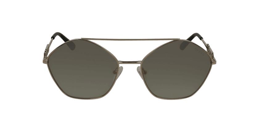 Gafas de sol mujer GU7644 dorado - vista de frente