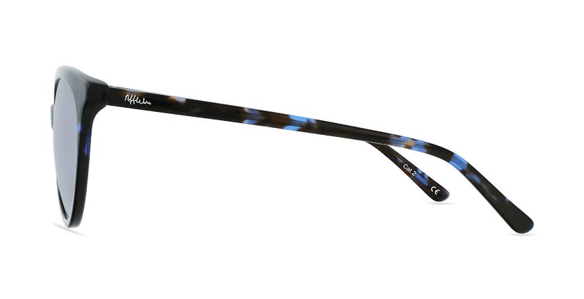 Gafas de sol mujer ENORA carey/azul - vista de lado