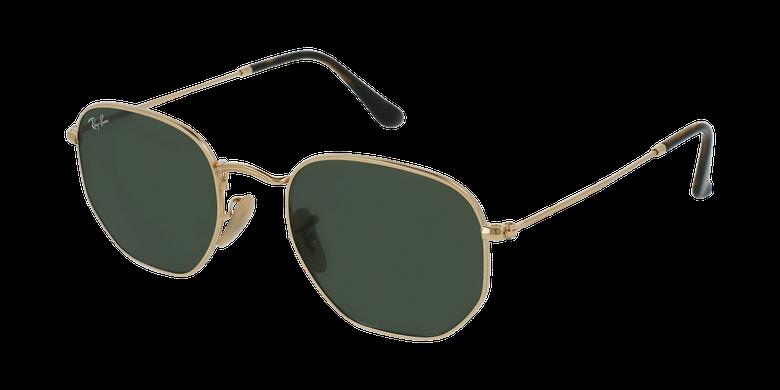 Gafas de sol HEXAGONAL dorado