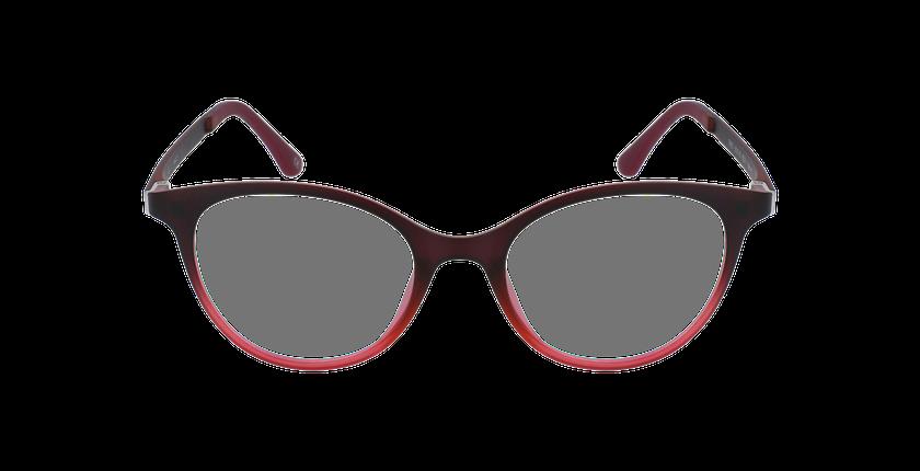 Gafas graduadas mujer MAGIC 23 rojo - vista de frente