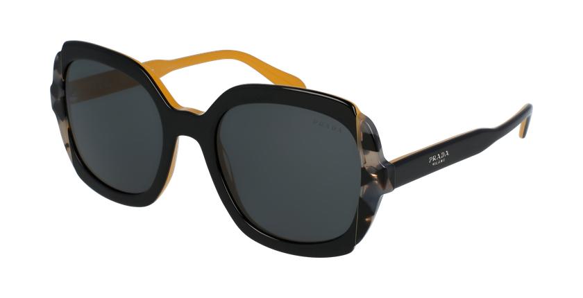 Gafas de sol mujer 0PR 16US amarillo/gris - vue de 3/4