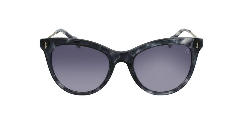 Gafas de sol mujer STOA32 negro/blanco - vista de frente