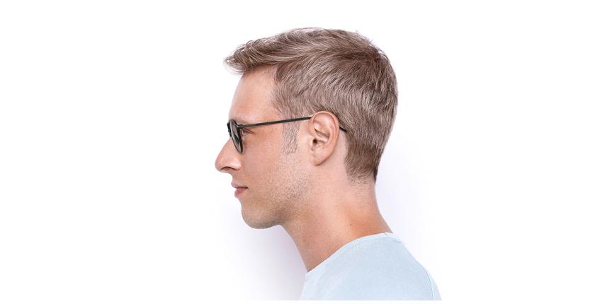 Gafas graduadas MAGIC 74 gris - vista de lado