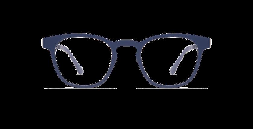 Gafas de sol hombre MAGIC 15 azul/azul oscuro mate - vista de frente