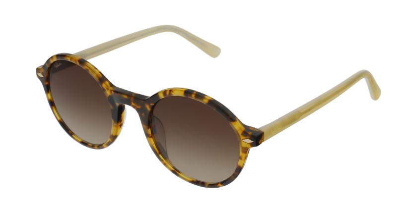 Gafas de sol mujer CALYPSO carey/amarillo - vue de 3/4
