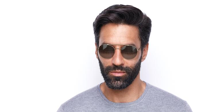 Gafas de sol hombre NOAM dorado