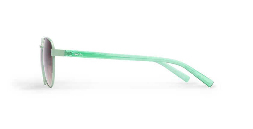 Gafas de sol mujer FRUTTI verde - vista de lado