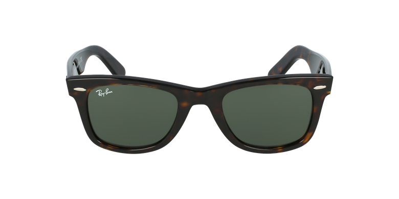 Gafas de sol WAYFARER marrón/negrovista de frente