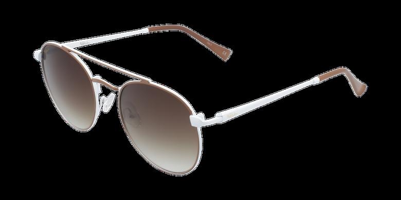 Gafas de sol niños SANTIAGO - NIÑOS marrón/blanco