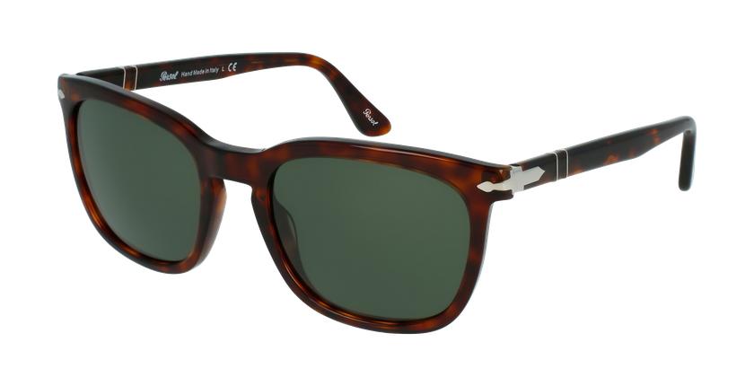 Gafas de sol hombre 0PO3193S marrón - vue de 3/4