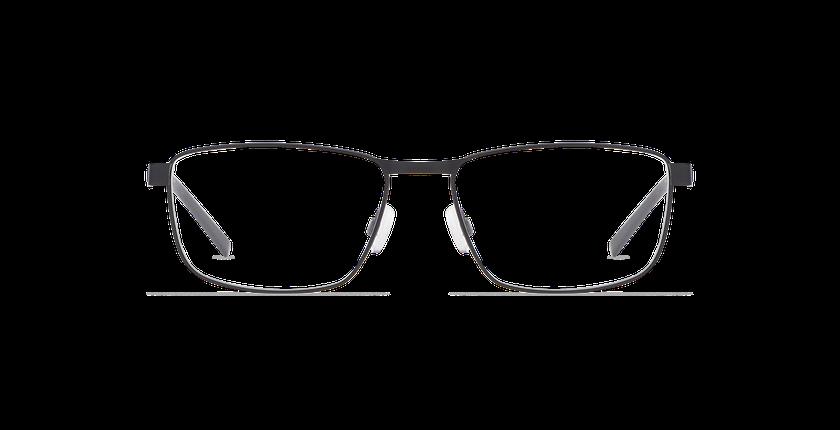 Gafas graduadas hombre ALPHA19 negro - vista de frente