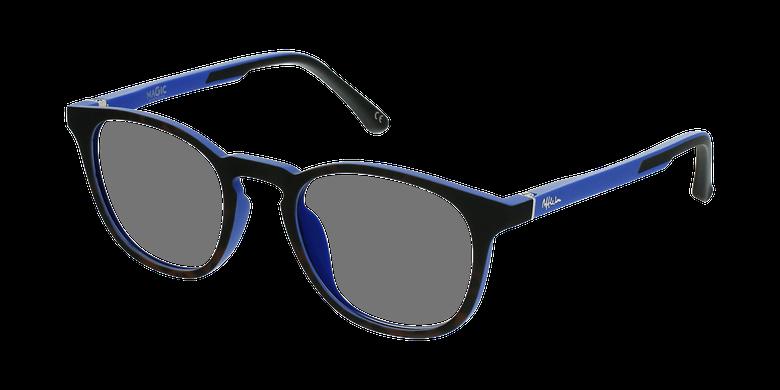 Gafas graduadas niños MAGIC 79 ECO-RESPONSABLE carey/azulvue de 3/4