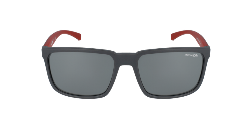 Gafas de sol hombre STRIPE gris - vista de frente