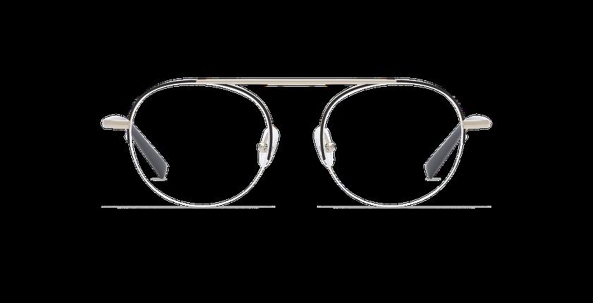 Gafas graduadas mujer REBECCA negro/dorado - vista de frente
