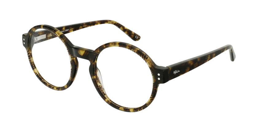 Gafas graduadas EMMY carey/verde - vue de 3/4