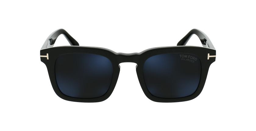 Gafas de sol hombre DAX negro - vista de frente