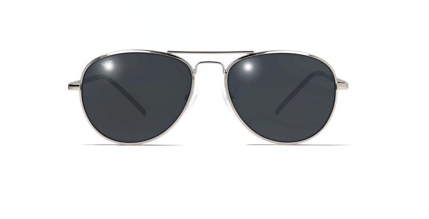 Gafas de sol hombre CADIZ negro/dorado - vista de frente