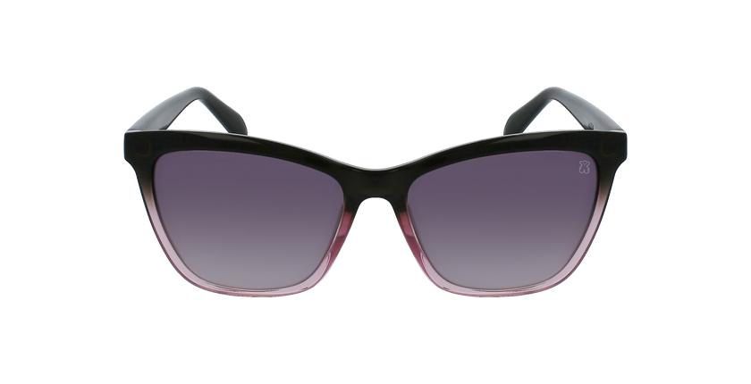 Gafas de sol mujer STOA23 rosa/gris - vista de frente