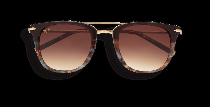 Gafas de sol hombre MACKAY marrón - vista de frente