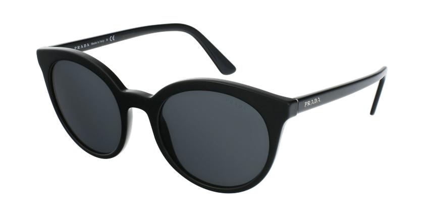 Gafas de sol mujer PR 02XS negro/negro - vue de 3/4