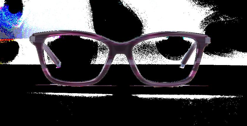 Gafas graduadas mujer MEDICIS morado - vista de frente