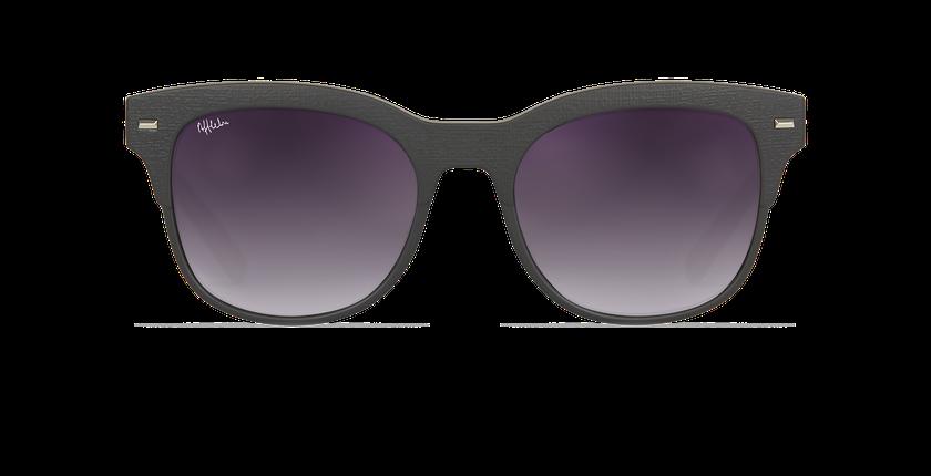 Gafas de sol mujer IBAITI negro - vista de frente