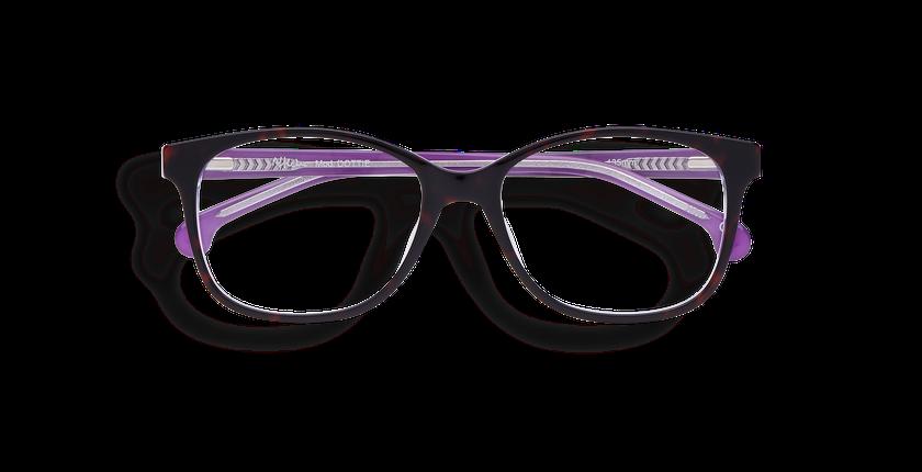 Gafas graduadas mujer DOTTIE morado - vista de frente