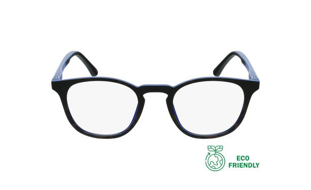 Gafas graduadas niños MAGIC 79 ECO-RESPONSABLE carey/azul - vista de frente