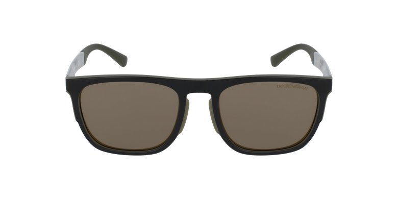 Gafas de sol hombre 0EA4114 negro/verde