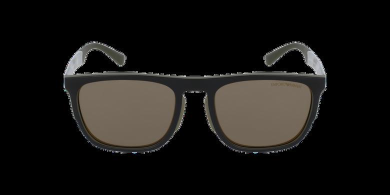 Gafas de sol hombre 0EA4114 negro/verdevista de frente