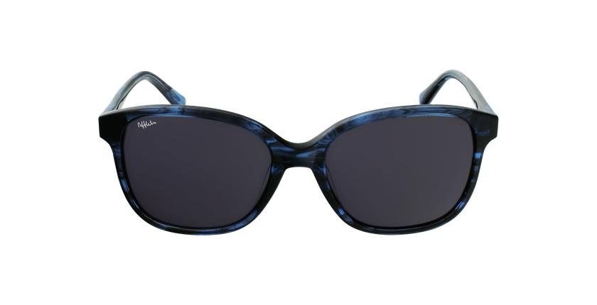 Gafas de sol mujer GLORIA azul/negro - vista de frente