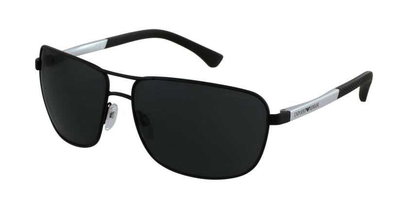 Gafas de sol hombre 0EA2033 negro - vue de 3/4