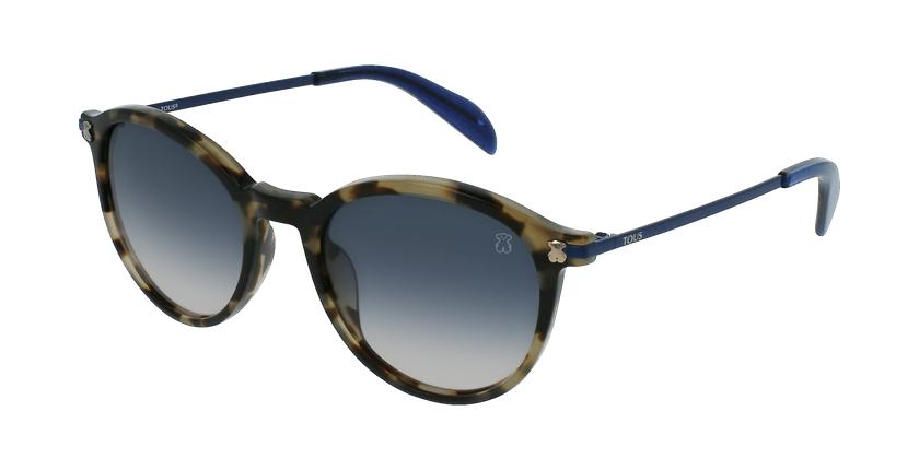 Gafas de sol mujer STO993 marrón - vue de 3/4