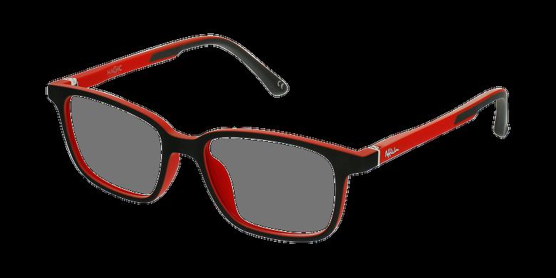 Gafas graduadas niños MAGIC 76 ECO-RESPONSABLE negro/rojo