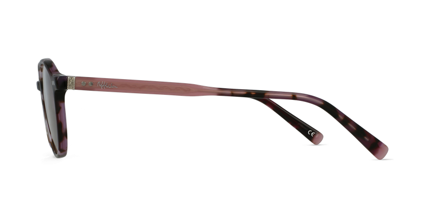 Gafas graduadas BIZET morado - vista de lado