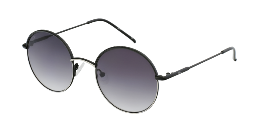 Gafas de sol PALOU negro/plateado - vue de 3/4