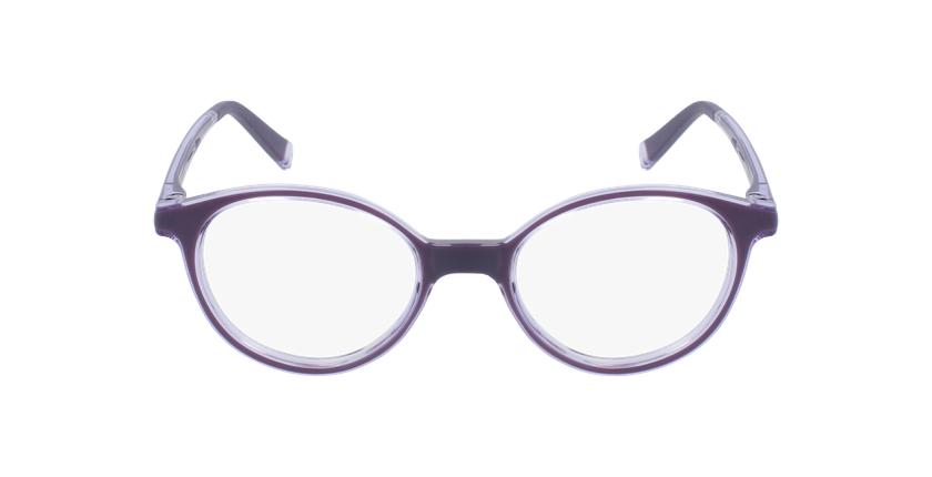 Gafas graduadas niños RFOP2 morado - vista de frente