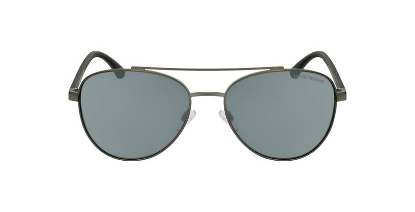 Gafas de sol hombre EA2079 negro/negro - vista de frente