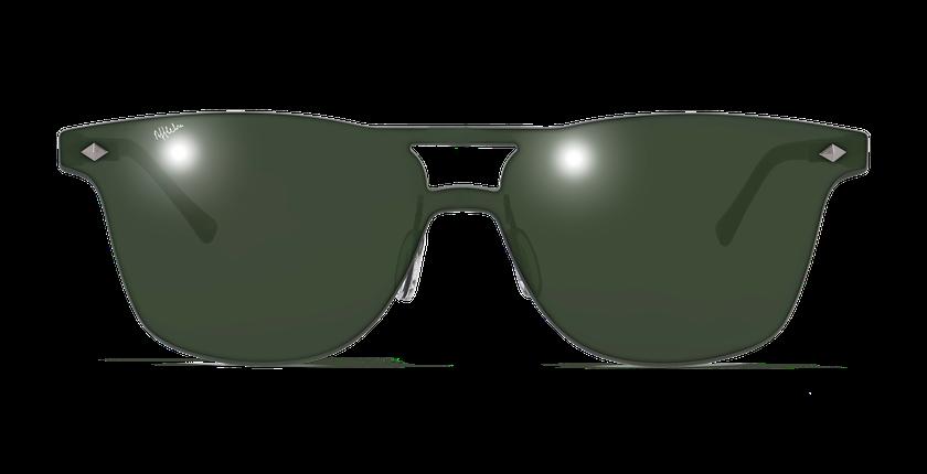 Gafas de sol hombre COSMOS1 verde - vista de frente