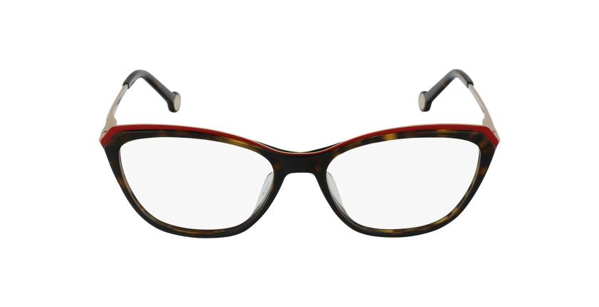 Gafas graduadas mujer VHE854 negro/carey - vista de frente