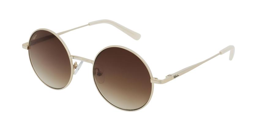Gafas de sol mujer BETSY dorado - vue de 3/4