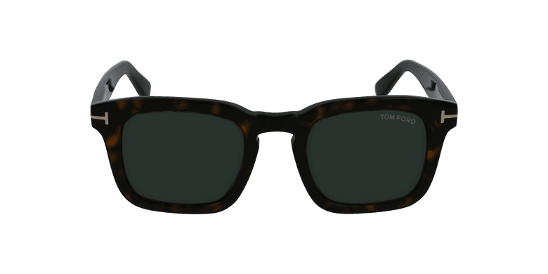 Gafas de sol hombre DAX marrónvista de frente