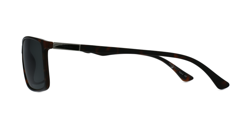 Gafas de sol hombre SHAUN POLARIZED carey - vista de lado