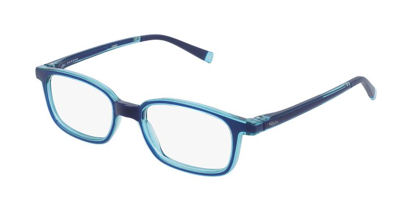Gafas graduadas niños RFOP1 azul/turquesa - vue de 3/4