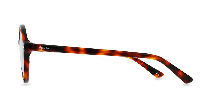 Gafas graduadas CAMELIA carey/marrón - vista de lado