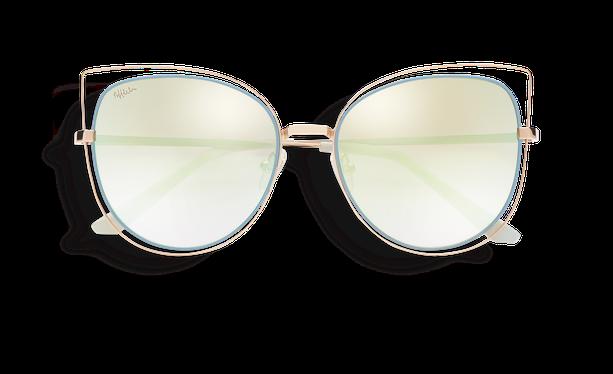 Gafas de sol mujer CHULA dorado/azul - danio.store.product.image_view_face