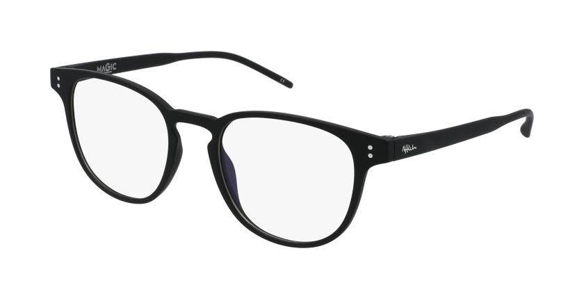 Gafas graduadas MAGIC 47 BLUEBLOCK negro - vue de 3/4