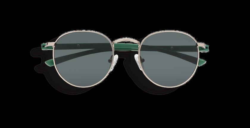 Gafas de sol MOE POLARIZED plateado/verde - vista de frente